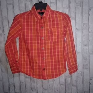 Calvin Klein long sleeve plaid button up shirt
